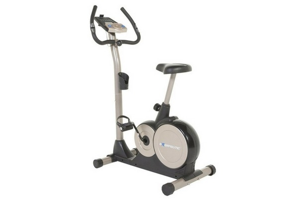 Exerpeutic 3000 Magnetic Upright Bike with Programmable Computer/Bluetooth Technology/Mobile App Tracking