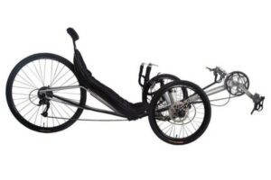 Performer JC70 Recumbent Tricycle 27S, FRP seat