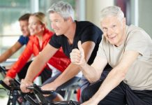 stationary exercise bike for seniors