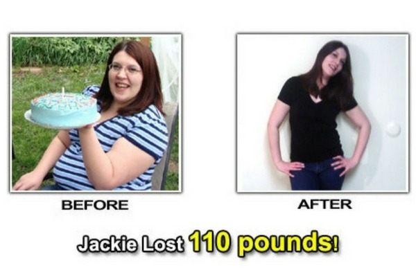 weight loss success story jackie