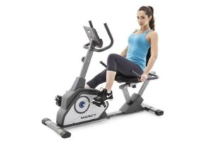 Marcy Magnetic Recumbent Exercise Bike NS-40502R