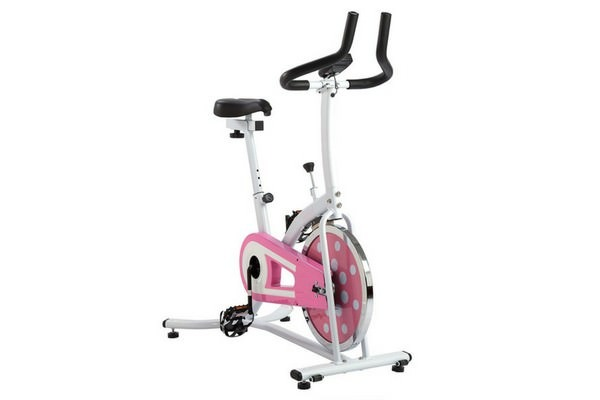 Sunny Health and Fitness P8100 Pink Indoor Cycling Bike