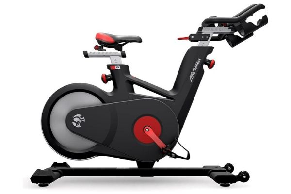 Life Fitness IC4 Indoor Cycle Spin Exercise Bikes, Black