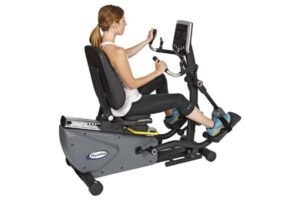 HCI Fitness Physio Step HXT Recumbent Compact Semi-Elliptical Cross Trainer