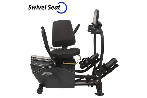 HCI Fitness PhysioStep MDX Recumbent Elliptical with Swivel Seat