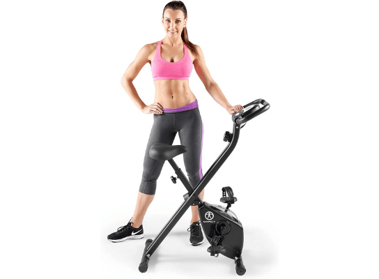 Top 4 Best Marcy Foldable Exercise Bike Reviews: Marcy Ns-654, Marcy Ns-5795y-Parent, Marcy Ns652, Marcy Ns-653 Folding Stationary Exercise Bike