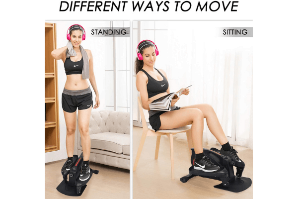 Top 8 Best Mini Exercise Bikes Reviews: Flexcycle, Marnur, Maxkare, Sunny Health & Fitness, Ativafit, Exerpeutic 2000m, Charahome, Wonder Maxi Under Desk Bike Pedal Exerciser