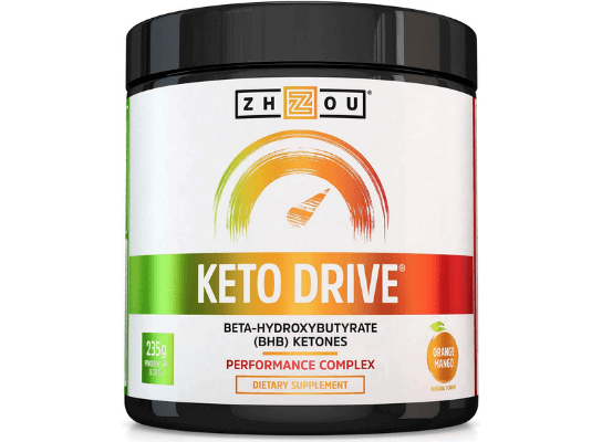 Keto Drive Reviews – Does Zhou Keto Drive BHB Salts, Pills, Capsules Works? What is Keto Drive? Is it Safe, Scam?