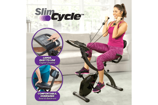 Best Slim Cycle Reviews And Exercising Guide For Slim Cycle As Seen On Tv 2-In-1 Exercise Bike